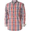 Royal Robbins Vista Chill Plaid overhemd en blouse lange mouwen Heren rood/blauw